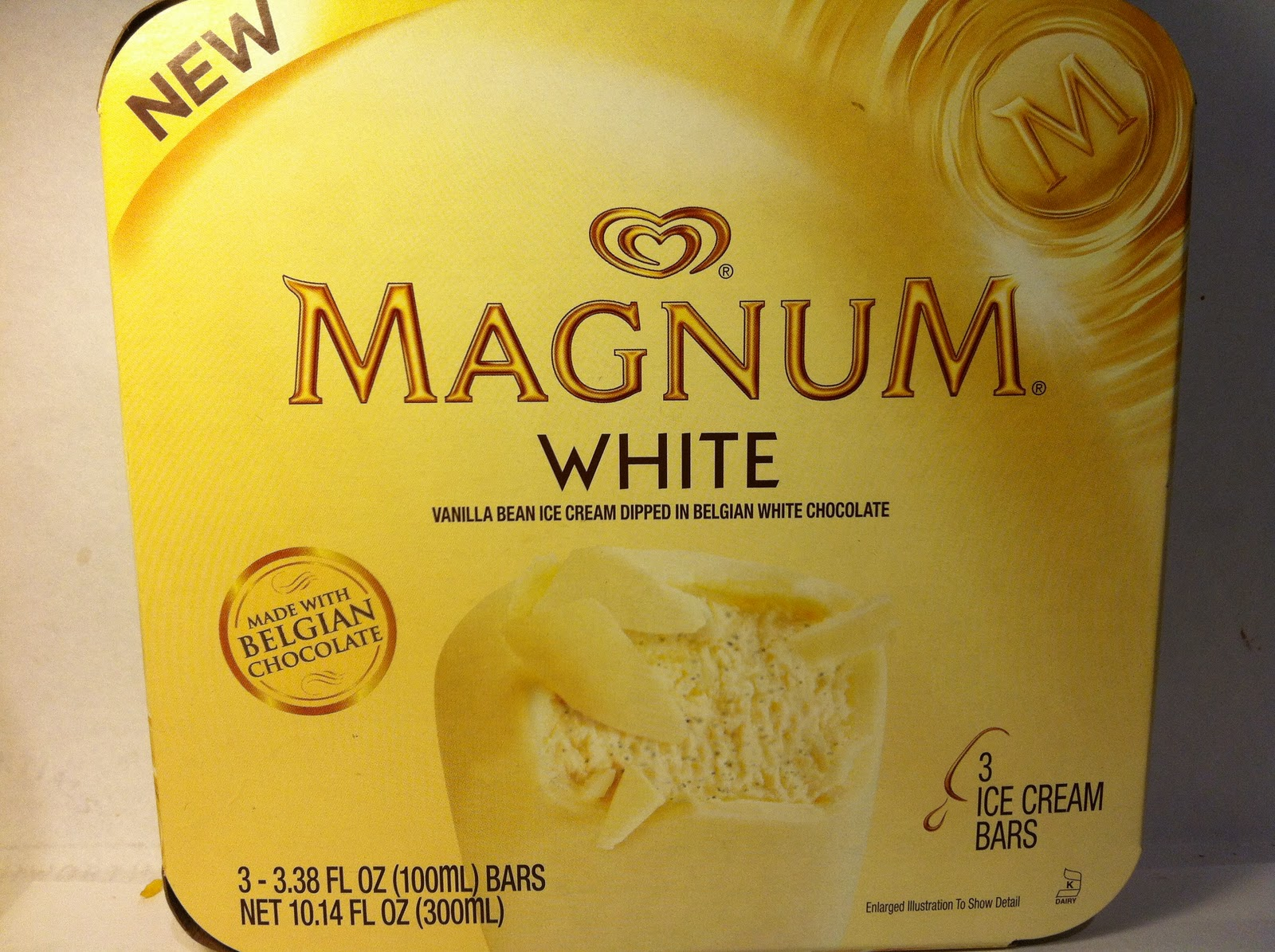 ... 11:00 am / 4 Comments on Review: Magnum White Chocolate Ice Cream Bar
