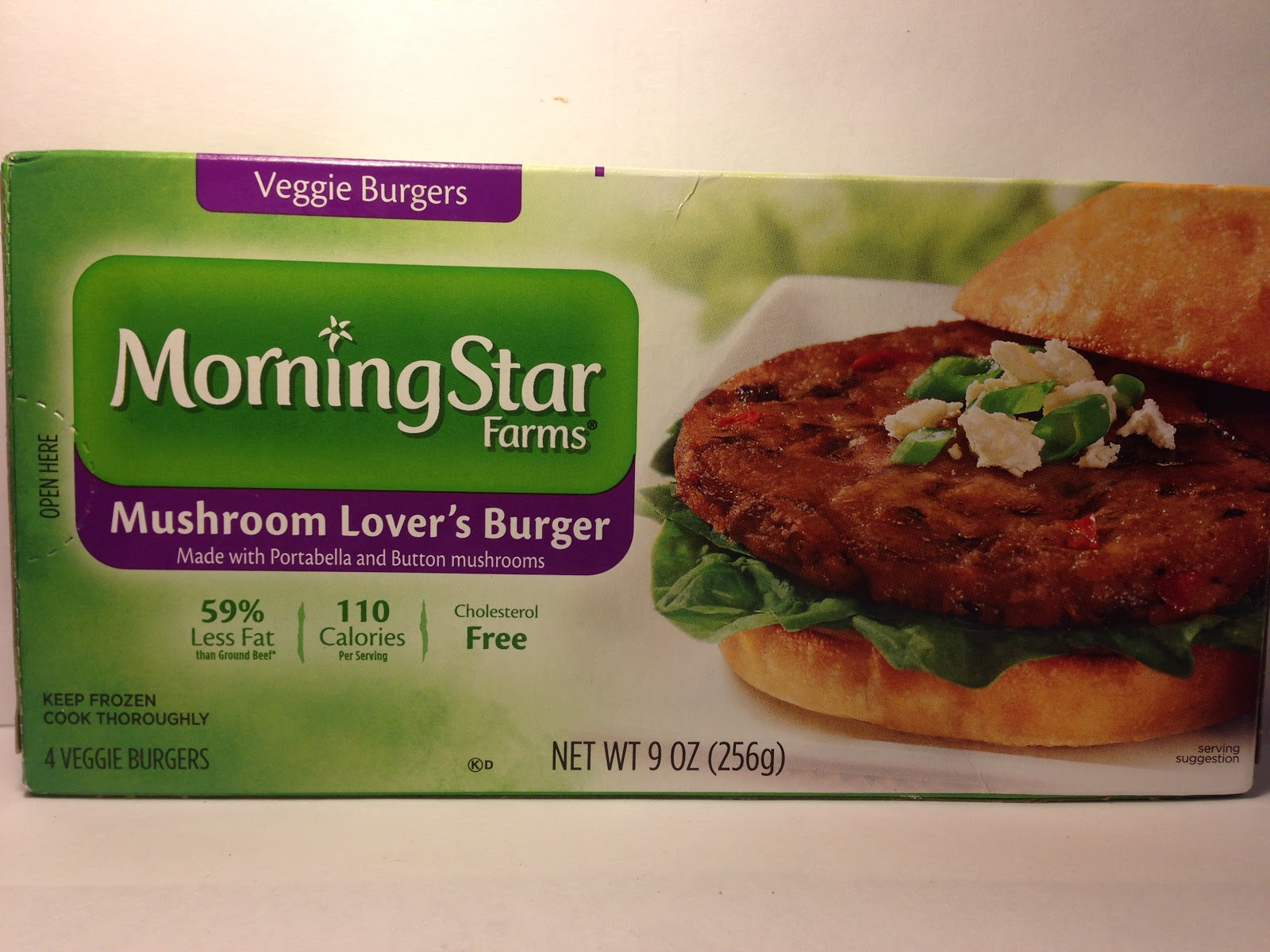 Review: MorningStar Farms Mushroom Lovers Veggie Burger
