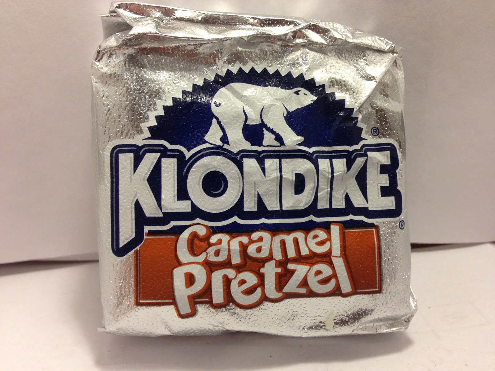 Review: Klondike Caramel Pretzel Ice Cream Bars « Crazy Food Dude